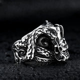 Feng Shui Dragon Ring (Steel)