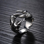 Mighty Dragon Claw Ring made of Stainless Steel