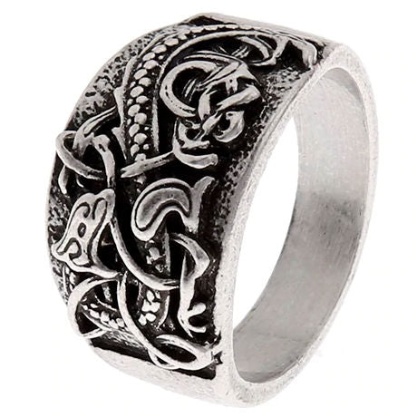 Nordic Dragon Ring