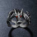 Oriental Dragon Ring made of Stainless Steel