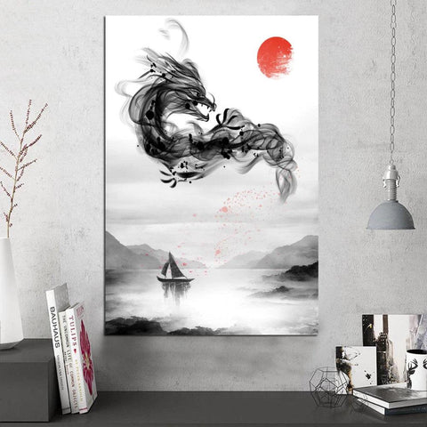 Oriental Dragon Wall Art