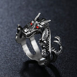 Dragon Ring inspired by Oriental myths