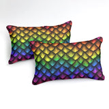 Dragon Scale Pillows