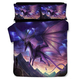 Violet Dragon Bedding