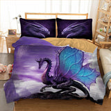 Purple Fairy Dragon Bedding