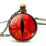 Red Dragon Eye Necklace