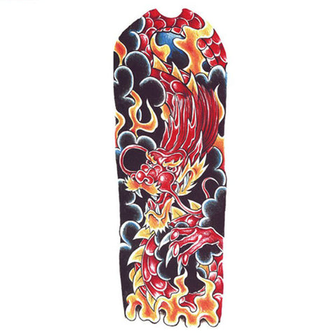 Red Dragon Temporary Tattoo