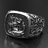 Saint George & the Dragon Ring