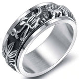 Rotatable Dragon Ring