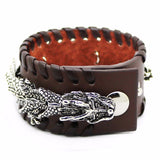 Dragon's Wrath Bracelet (Leather)