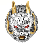 Dragon Face Ring