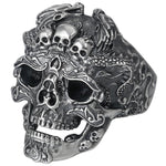 Dragon Skull Ring