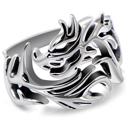 Tribal Dragon Ring