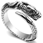Small Dragon Ring (Steel)