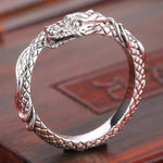 Small Dragon Ring (Silver)