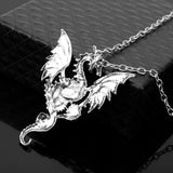 Steampunk Mechanical Dragon Necklace