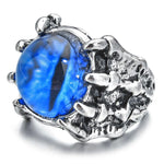 Blue Dragon Eye Ring