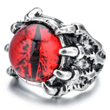 Red Dragon Eye Ring