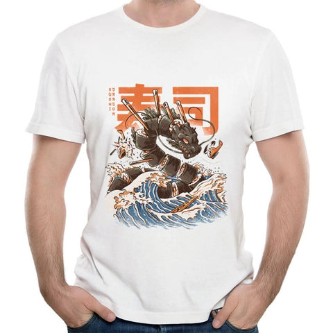 """Great Sushi Dragon"" T-Shirt"