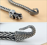Japanese Dragon Bracelet (Steel)