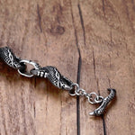 Chinese Dragon Bracelet (Steel)