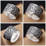 Oriental Dragon Ring (Silver)