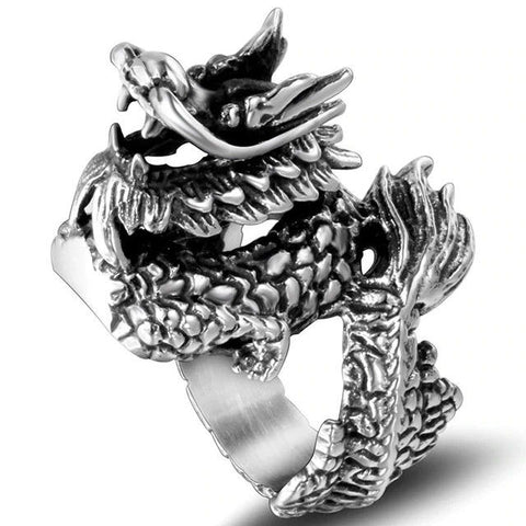 Tibetan Dragon Ring