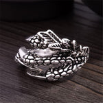 Dragon Claws Ring (Steel)