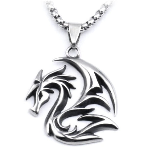 Tribal Dragon Necklace