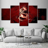 Tribal Dragon Wall Art