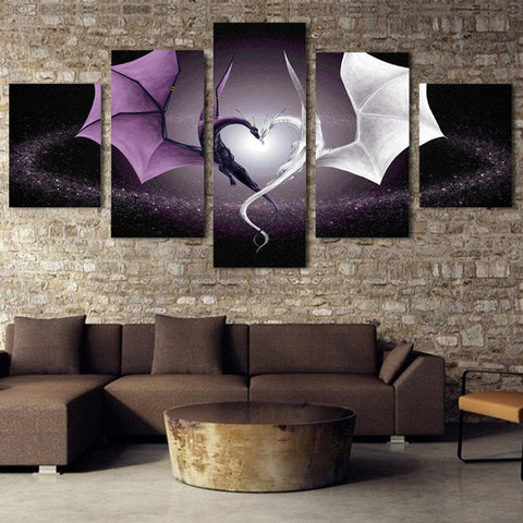 Dragons' Love Wall Art