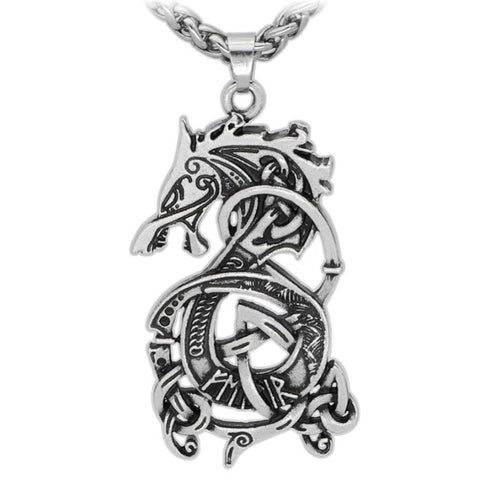 Viking Dragon Pendant