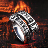 Viking Dragon Ring (Steel)