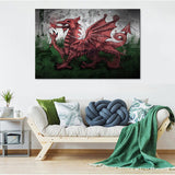 Dragon of Wales Canvas