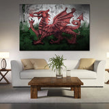 Welsh Dragon Wall Art