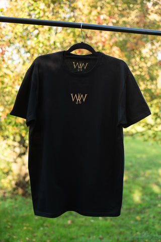 Gold Center Logo T-shirt
