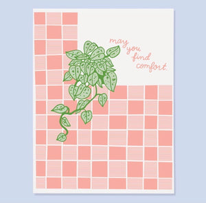 May You Find Comfort Card