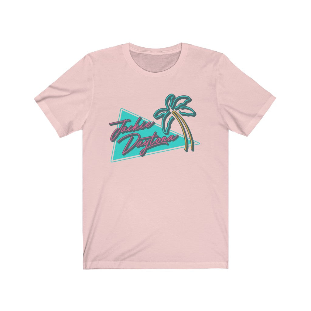Jackie Daytona Short Sleeve Palm Tee