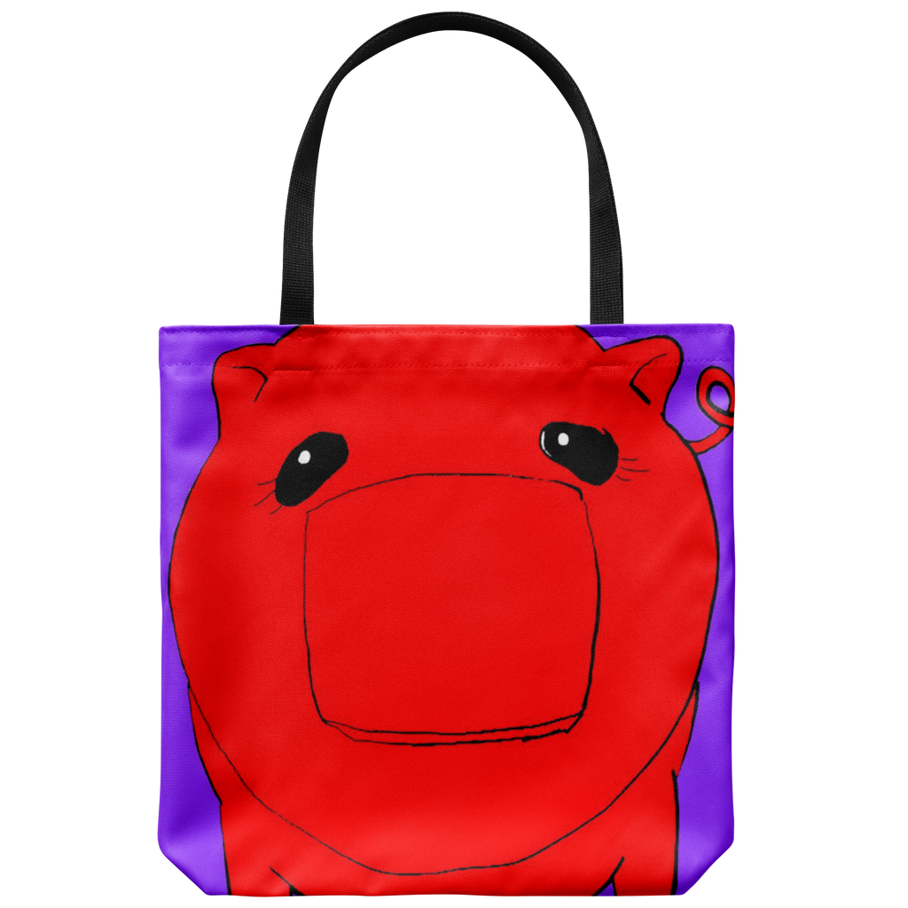 Red Coñata Tote - Chicago Coñata Company