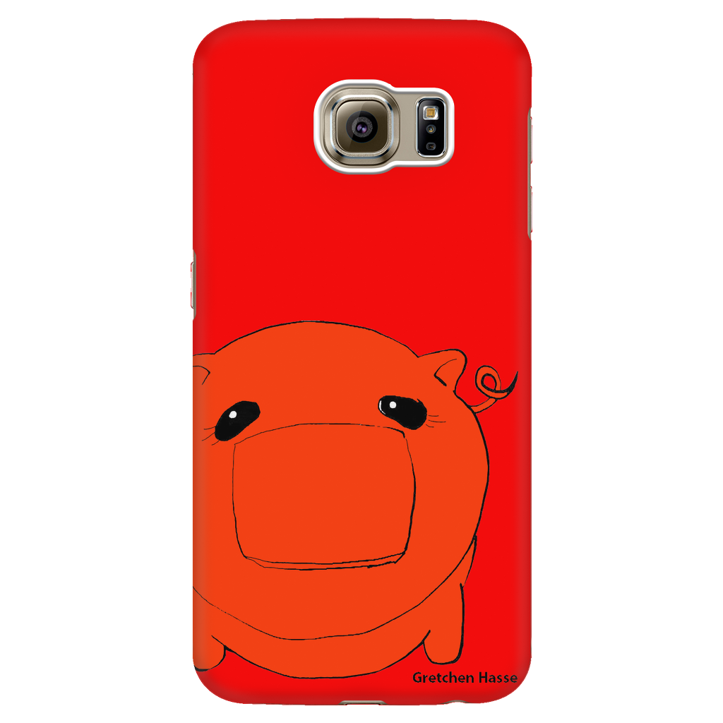 Coñata Orange Phone Case - Chicago Coñata Company