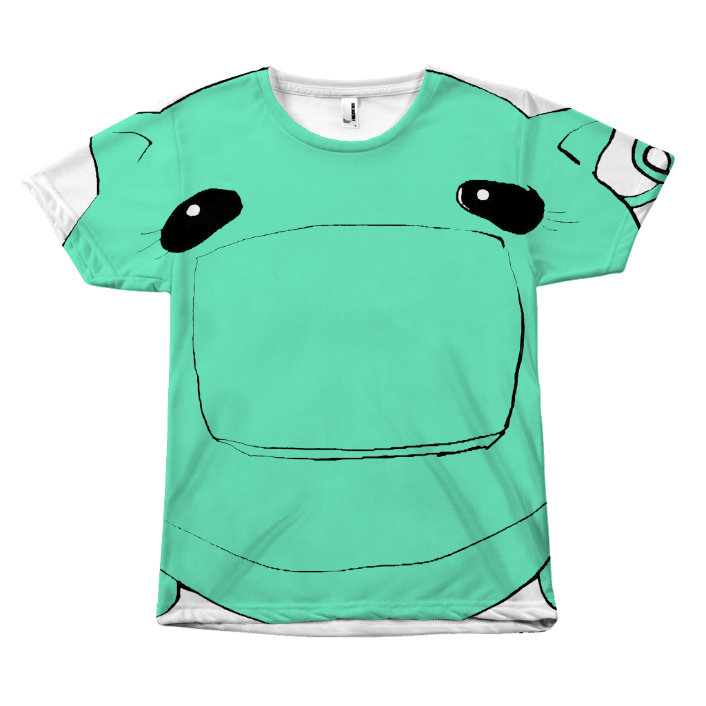 Coñata Mint Green Tee - Chicago Coñata Company