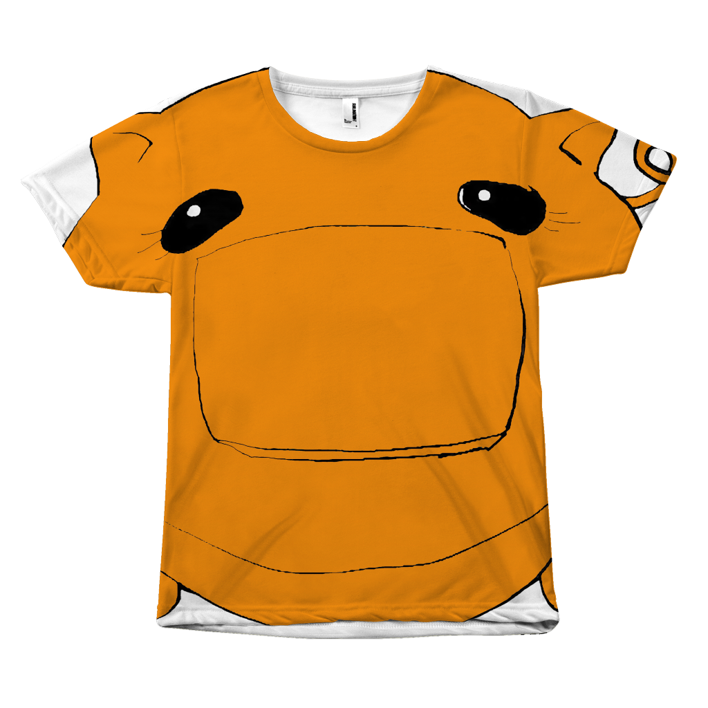 Coñata Ew Squash Orange Tee - Chicago Coñata Company