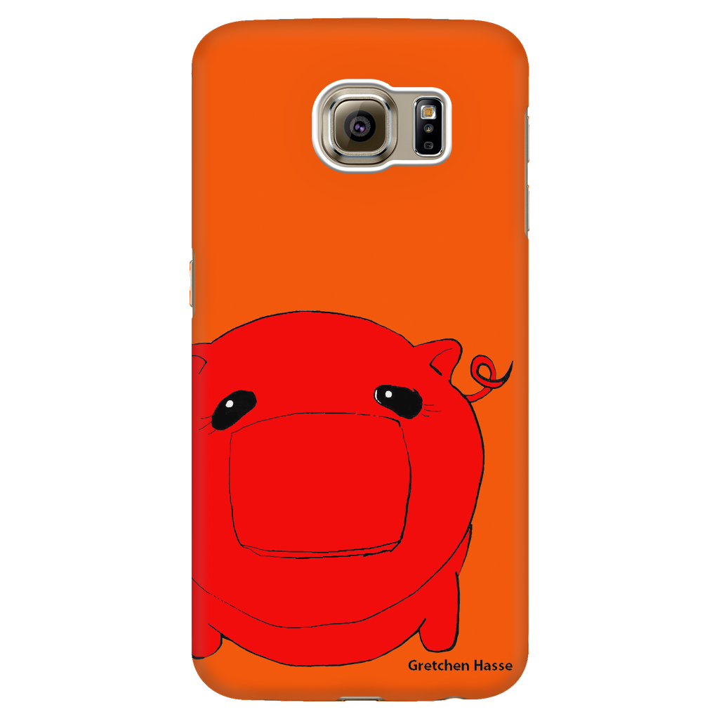 Coñata Red Phone Case - Chicago Coñata Company