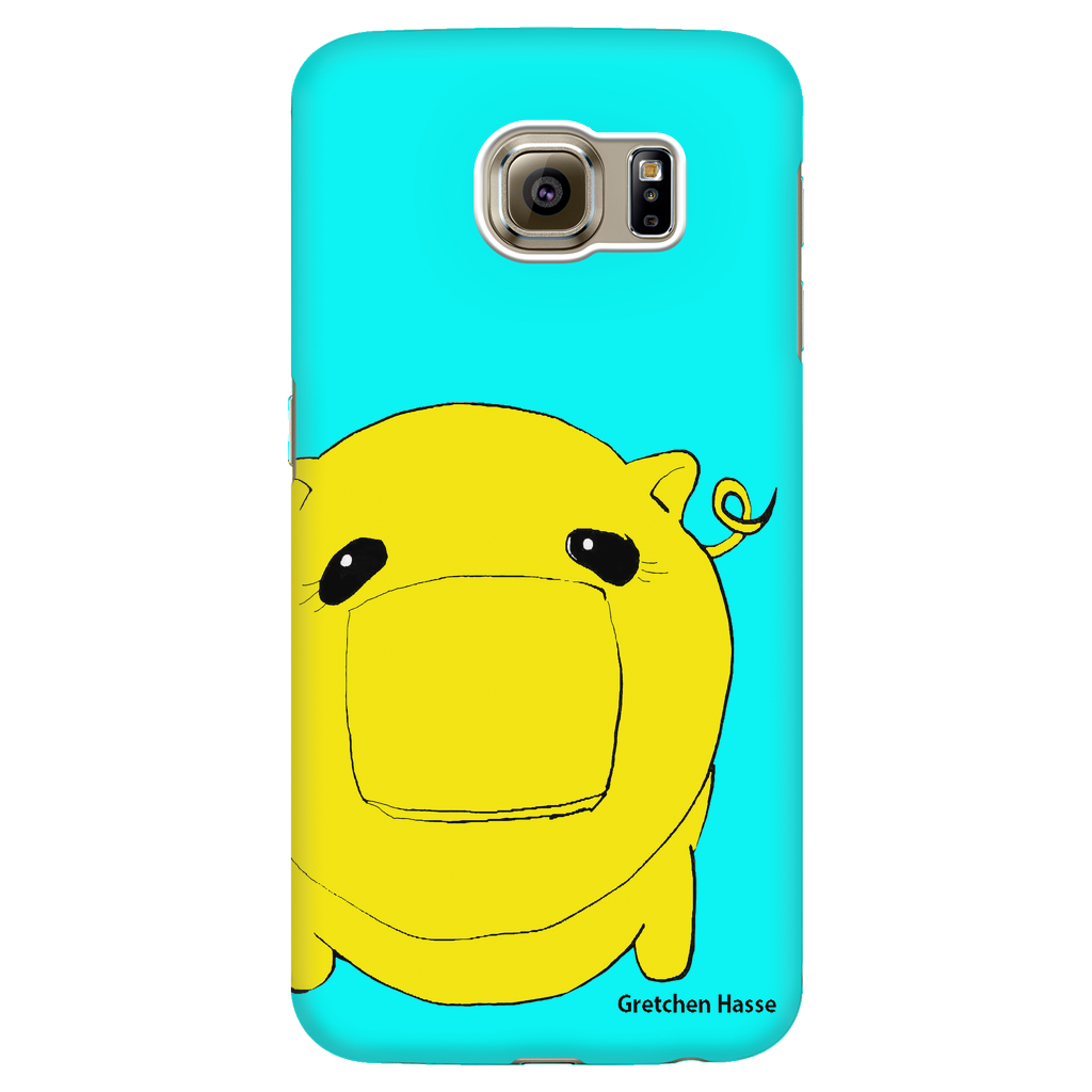 Coñata Yellow Phone Case - Chicago Coñata Company
