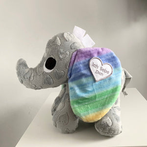 "Babyelefant ""Little Hearti"" Rainbow"