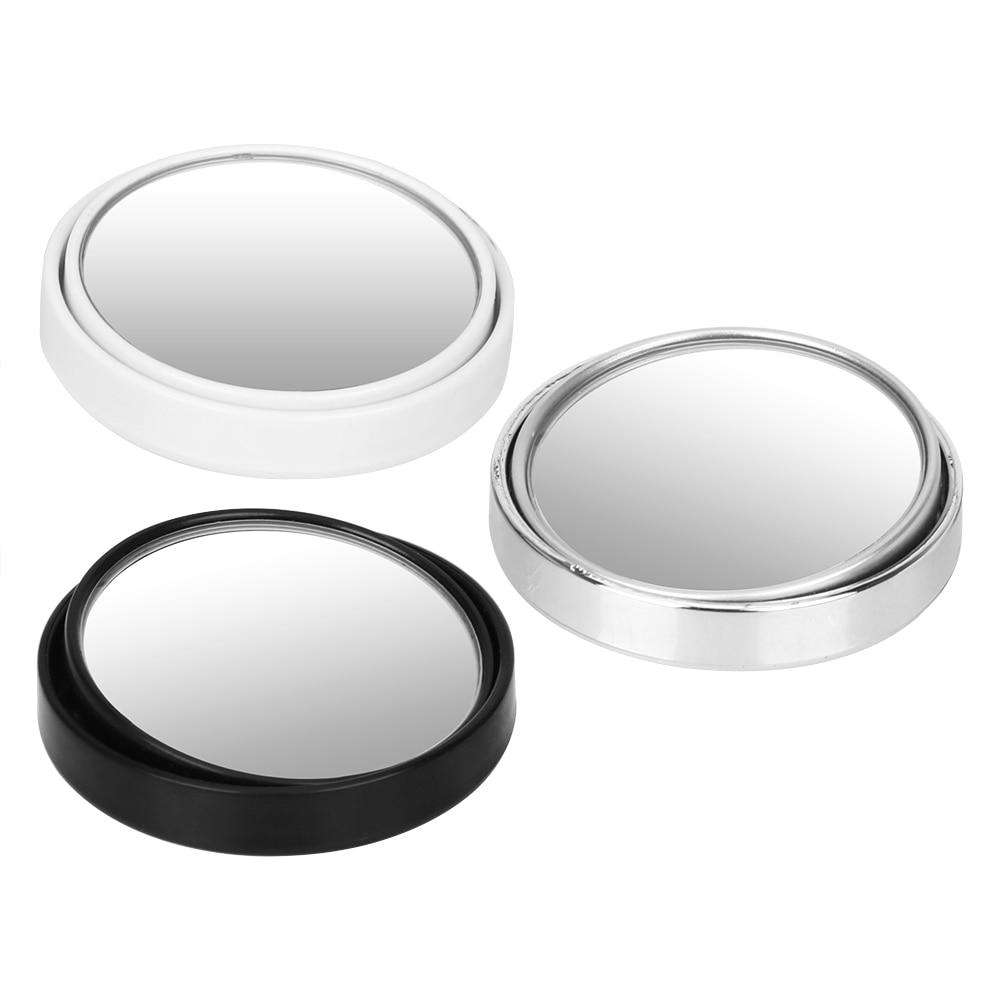 1PCS Car Vehicle Side Blindspot Mirror - Silver,White,Black | Deal Mission