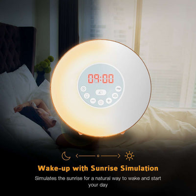 Sunlight Alarm Clock with Radio