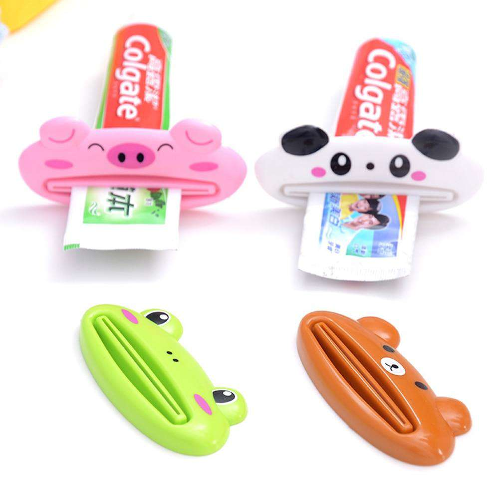 1pcs Animal Easy Toothpaste Squeezer - Pink,White,Green,Brown | Deal Mission
