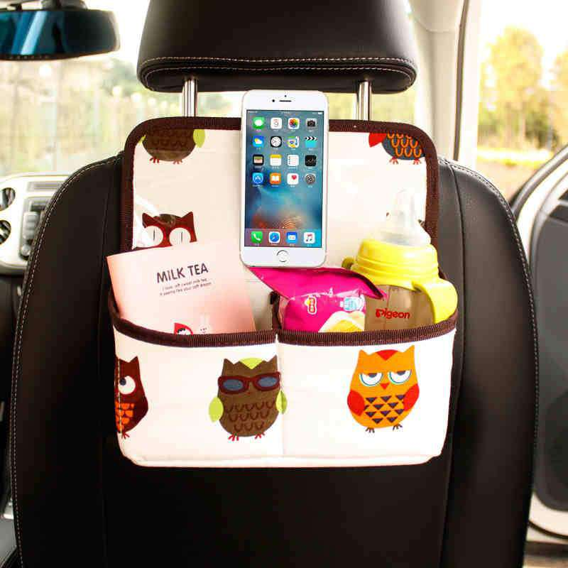 Owl Back Seat Organizer - Default Title | Deal Mission