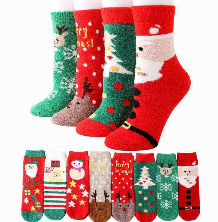 Winter Warm Christmas Socks - Default Title | Deal Mission